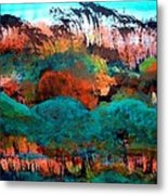 Landscape 121001-4 Metal Print