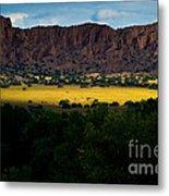 Landscape 22 E Los Alamos Nm Metal Print