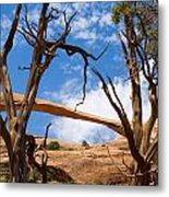 Landscape Arch - Arches National Park Metal Print