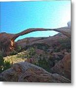 Landscape Arch 2 Metal Print