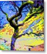 Landscape Art Tree Life Metal Print