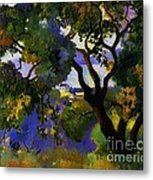 Landscape At St Tropez  2 Metal Print