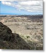 Landscape-canarian Volcanic Mountains Metal Print