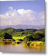 Landscape In Puerto Rico. Metal Print