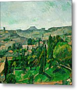 Landscape In The Ile-de-france Metal Print