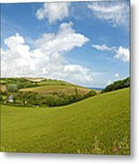 Landscape Near Hallsands In Devon Gb Metal Print