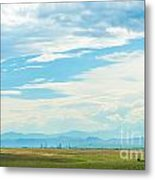 Landscape Of Denver Colorado Metal Print