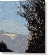Landscape Of Fall Metal Print