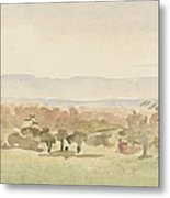 Landscape, Possibly Framlingham, Suffolk Metal Print