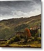 Landscape With A Castle On A Hill And A Metal Print