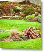 Landscaped Garden Metal Print