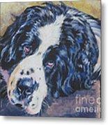 Landseer Newfoundland Dog Metal Print