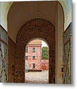 Landskrona Citadel Entrance Metal Print