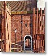 Landskrona Citadel In Sweden Metal Print
