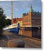 Landskrona Se 202 Metal Print