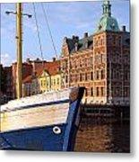 Landskrona Se 204 Metal Print