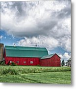Langford Barn  7d06202 Metal Print