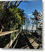 Langmoor-lister Bridge Metal Print