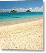 Lanikai Beach 2 - Oahu Hawaii Metal Print