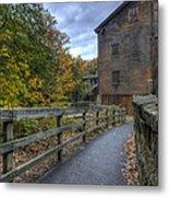 Lanterman's Mill In Fall Metal Print