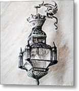 Lantern In Broad Daylight Metal Print