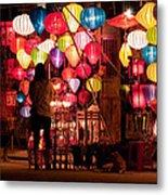 Lantern Stall 01 Metal Print