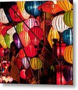 Lantern Stall 03 Metal Print