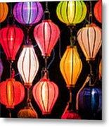 Lantern Stall 04 Metal Print