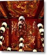 Lanterns And Dragons Metal Print