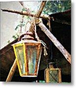 Lanterns Metal Print by Marty Koch