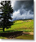 Lanty's Tarn On A Stormy Afternoon Metal Print