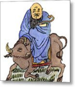 Lao-tzu (c604-531 B Metal Print