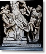 Laocoon And The Snake Metal Print
