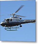 Lapd In Flight Metal Print