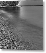 Lapping Waters On The Shore Metal Print
