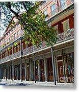 Upper Pontalba Building Photo Metal Print