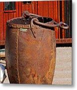 Large Mining Bucket Metal Print