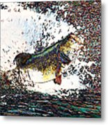 Largemouth Bass P180 Metal Print