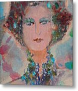 Larisa Close-up Metal Print