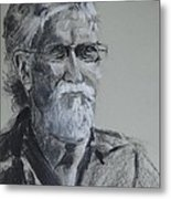 Larry From Life Metal Print
