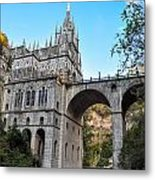 Las Lajas Sanctuary Metal Print