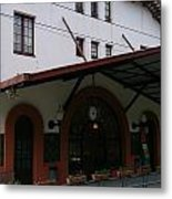 Las Planas Train Station Metal Print