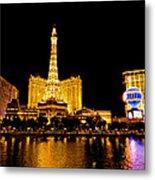Las Vegas 012 Metal Print by Lance Vaughn