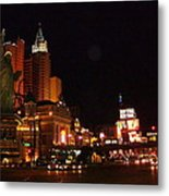 Las Vegas At Midnight Metal Print