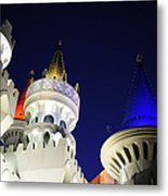 Las Vegas At Night Metal Print