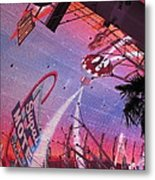 Las Vegas - Fremont Street Experience - 121212 Metal Print