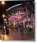 Las Vegas - Fremont Street Experience - 121224 Metal Print by DC Photographer