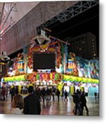 Las Vegas - Fremont Street Experience - 12128 Metal Print by DC Photographer