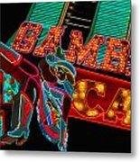 Las Vegas Neon Signs Fremont Street  Metal Print