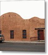 Las Vegas New Mexico Church Metal Print
